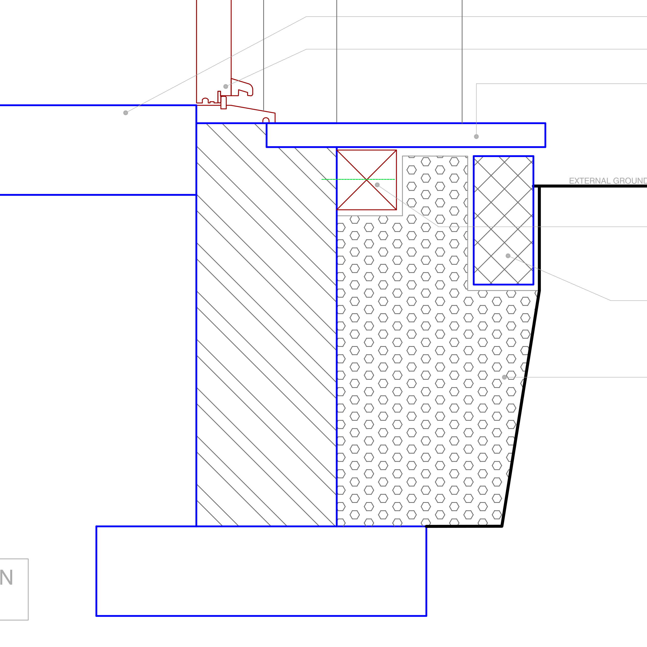 Detail for insulating below ground where an existing door with a step is to be retained. For use where floor void inaccessible by usual means and is not ...  sc 1 st  Retrofit Pattern Book & EWI to Door Threshold | Retrofit Pattern Book pezcame.com