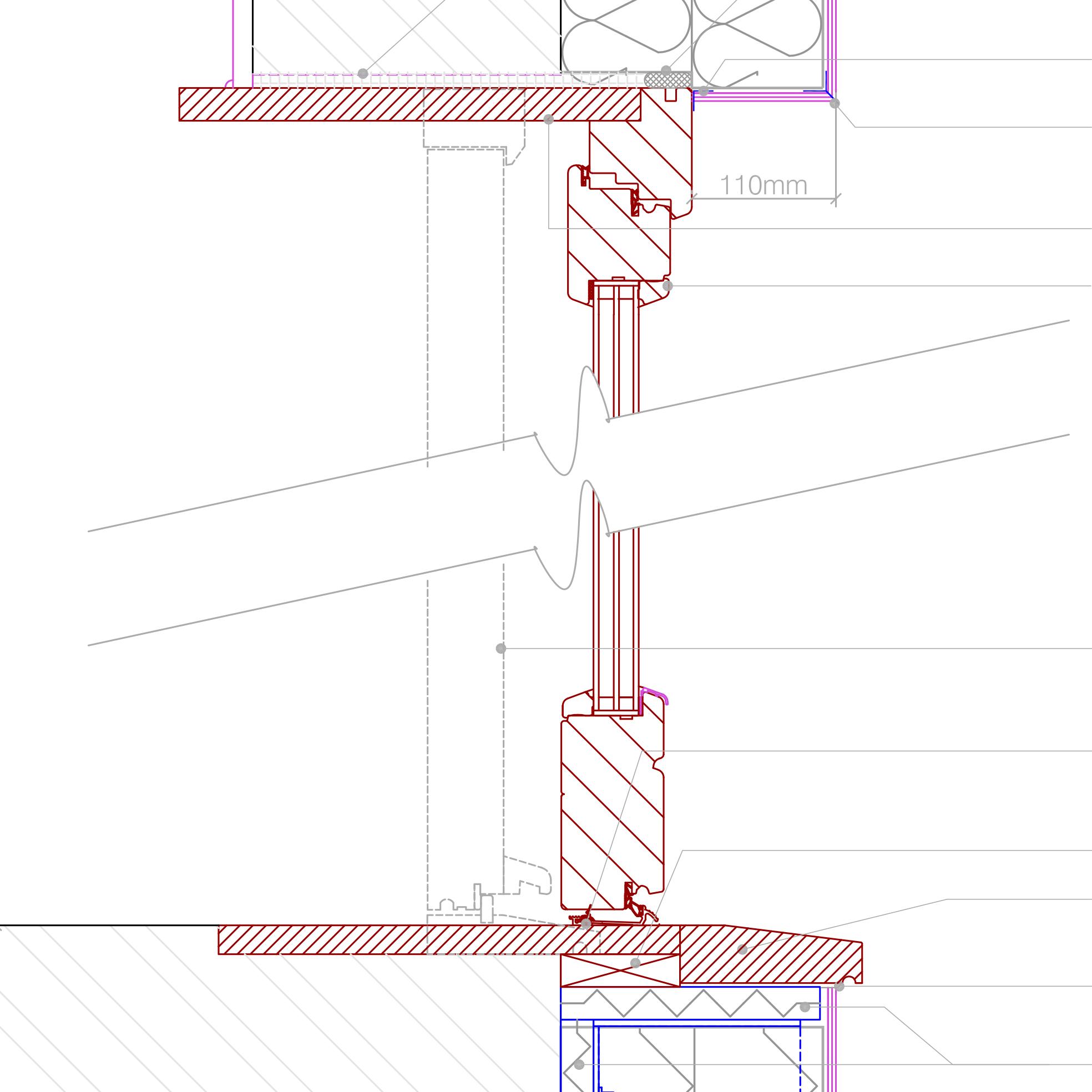 New door - retrofit installation into EWI | Retrofit Pattern